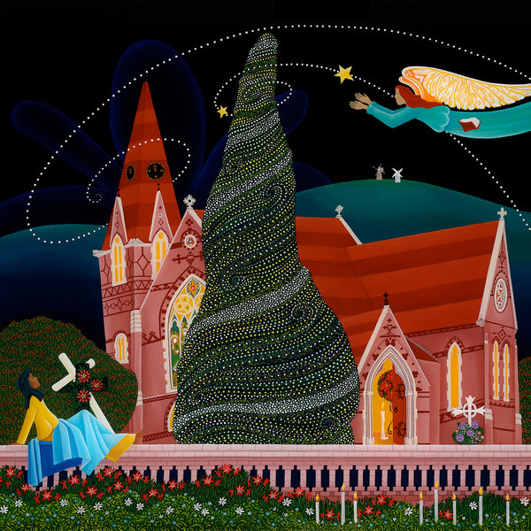 St John's at Christmas (A2 Print)