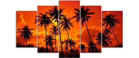 Sunset Sunrise Canvas Art