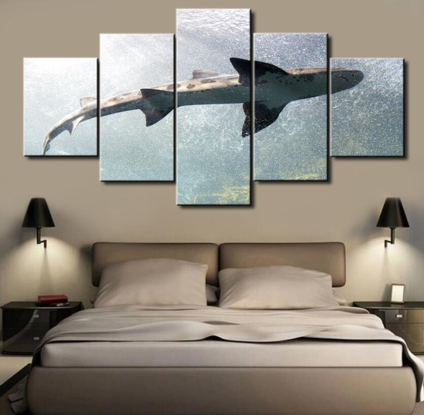 Canvas Home Decoration shark Wall Art - Home Wall Deco