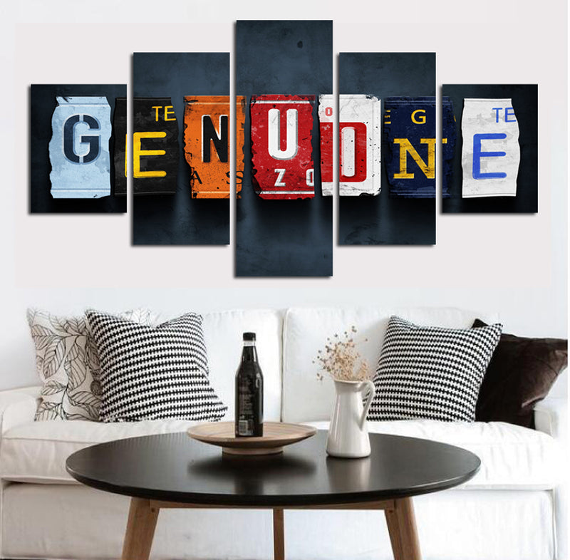 inspiring image of genuine canvas Art Canvas Art - Home Wall Deco