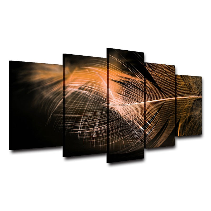 Dream feathers Canvas wall art Canvas Art - Home Wall Deco