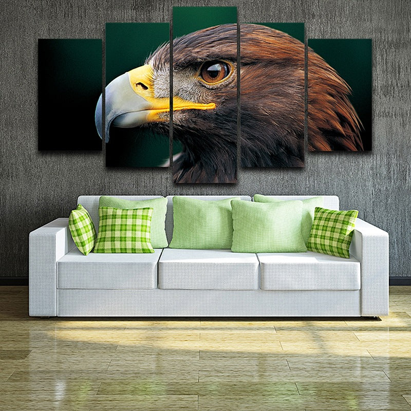 eagle eyes on Canvas wall art pictures Canvas Art - Home Wall Deco