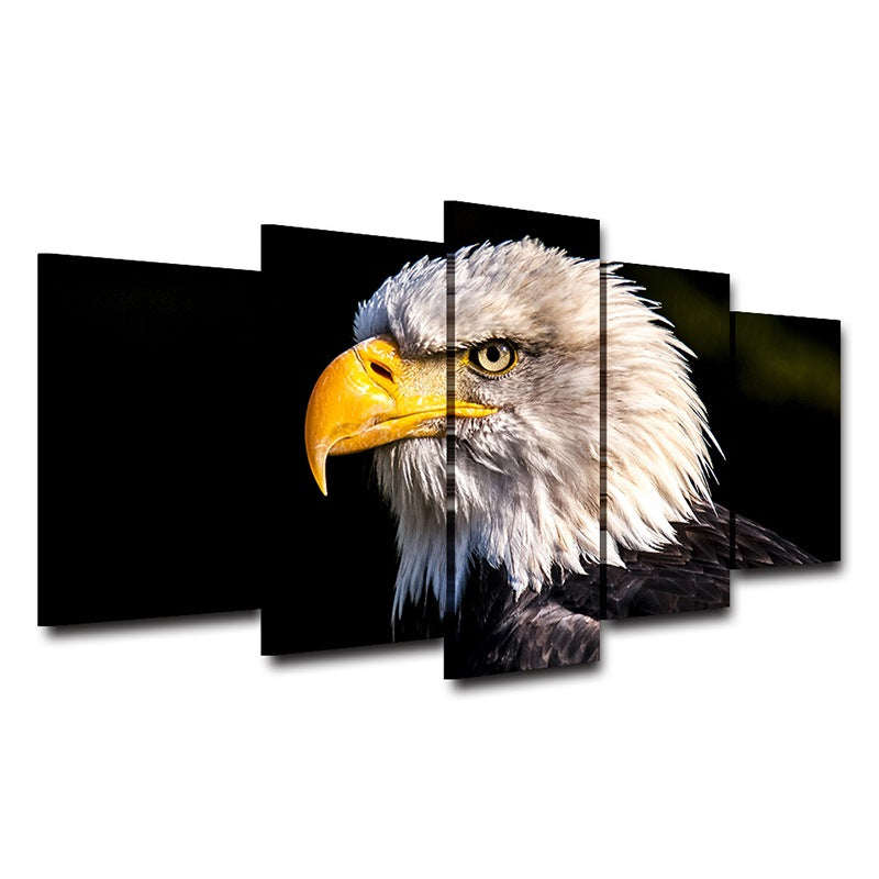 Bald Eagle on Canvas Home Decor wall art picture Canvas Art - Home Wall Deco