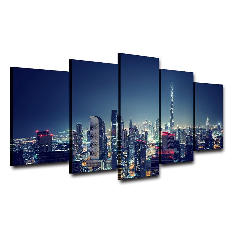 City wall art Home Decor on Canvas Dubai Canvas Art - Home Wall Deco