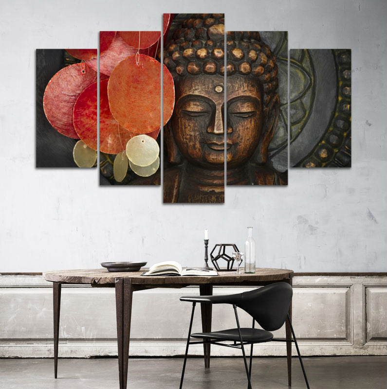 Buddhism buddha canvas wall art Canvas Art - Home Wall Deco