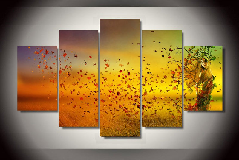 Autumnal Equinox home decor canvas wall art Canvas Art - Home Wall Deco