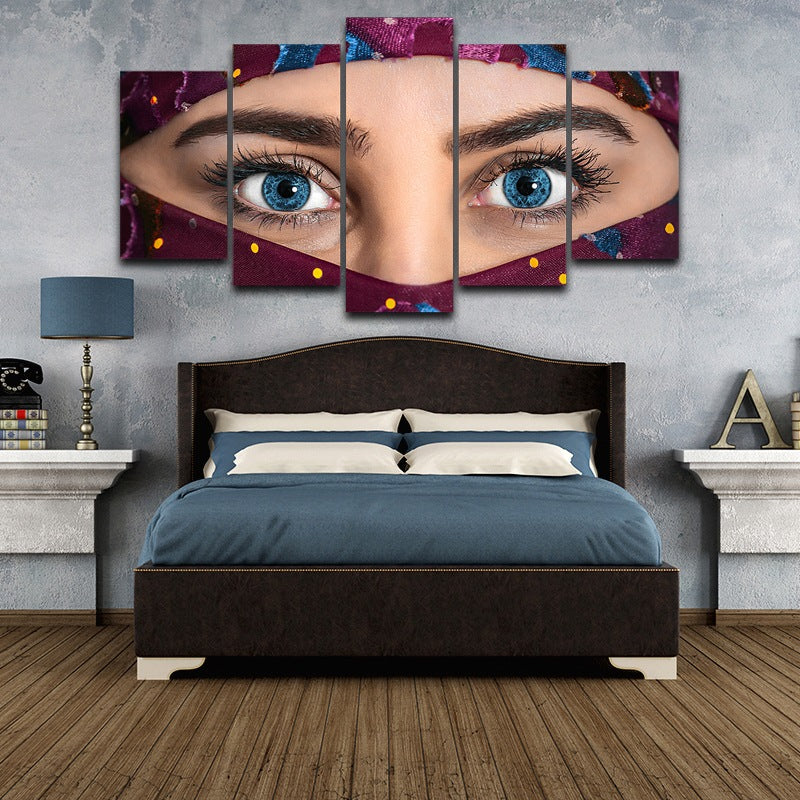 eye canvas wall art picture Canvas Art - Home Wall Deco