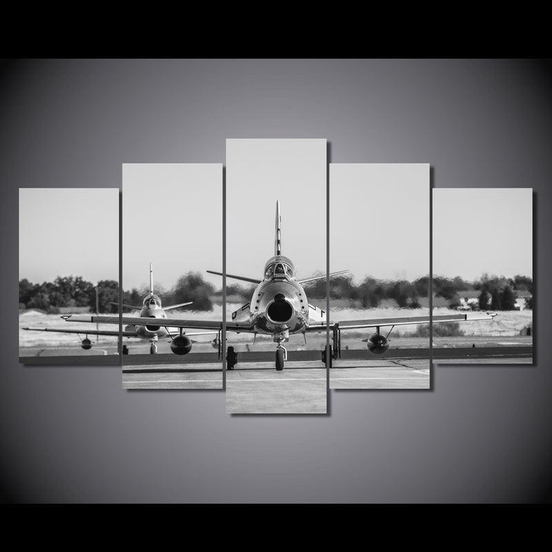 canvas art Fighter aircraft room decor Canvas Art - Home Wall Deco