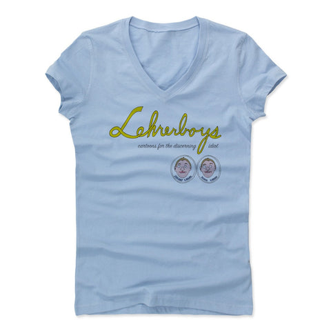 Womens Women's V-Neck Baby Blue