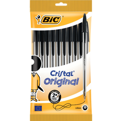 BiC Cristal Medium Ball Pen Pack of 10