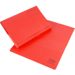 Elba Bright Manilla Document Wallet 285gsm Capacity