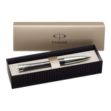 Parker Urban Metallic Chrome Trim Ball Pen Gift Boxed