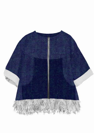 Hanbury Fringed Denim Jacket