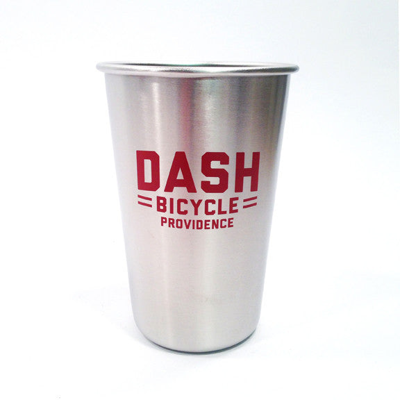 Dash: Stainless Steel Pint Logo Cup