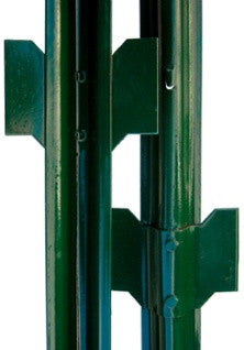 Steel U Post - Medium Weight - 14 Gauge - 4' Green - 10 Post Bundle
