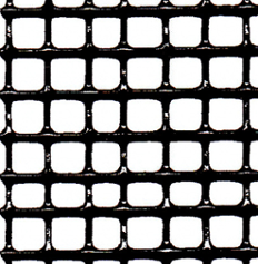 "Hardware Cloth - 23 Gauge - Vinyl Coated Black - Galvanized After Weld (GAW) - 1/4""x1/4"" Mesh - 36""x100'"