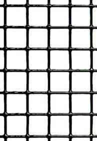 "Hardware Cloth - 19 Gauge - Vinyl Coated Black - Galvanized After Weld (GAW) - 1/2""x1/2"" Mesh - 36""x100'"