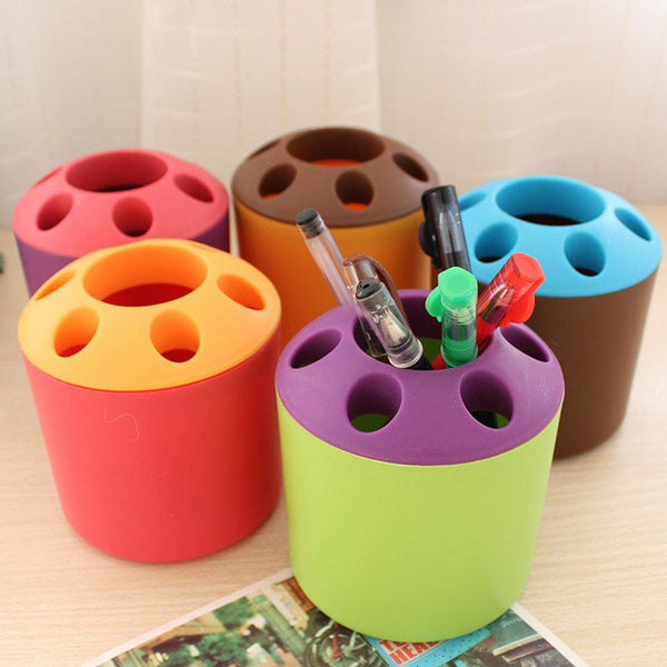 Candy Colored Brush/Pen Holder(Dozen)