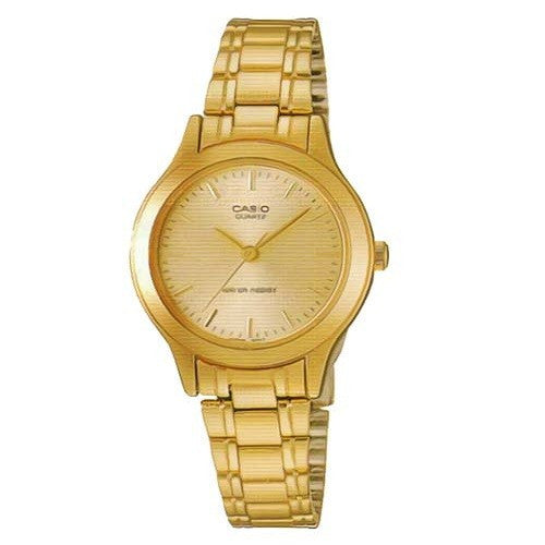 Casio Ladies Watch LTP-1128N-9ARDF Gold tone Watch