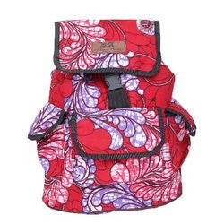 African Things Sisi Pink Wave Backpack