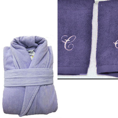 Bathrobe and Towel Set