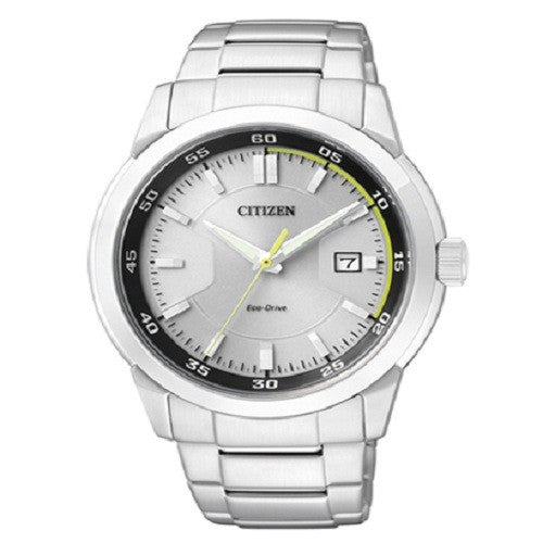 CITIZEN BM7140-54A ECO-DRIVE ANALOG MEN'S WHITE DIAL WATCH