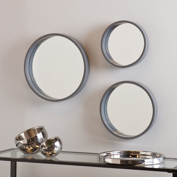 3 Piece Decorative Wall Mirror Set