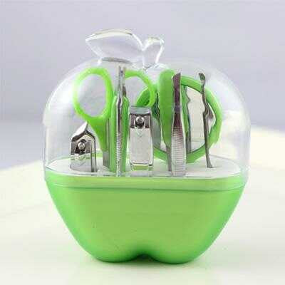Apple shaped case Manicure Set (Dozen)
