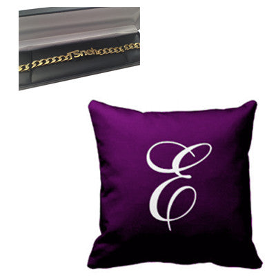 Pillow and Bracelet Gift Set