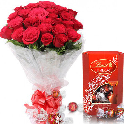 Red Roses and Chocolate set
