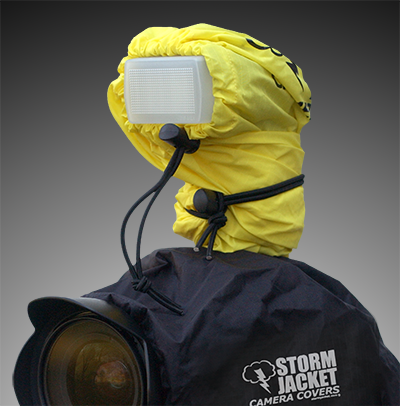 Small Storm Jacket on a Flash