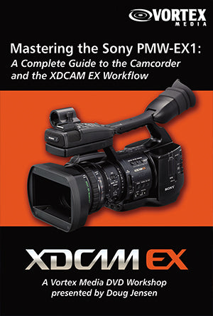Mastering the Sony PMW-EX1 & EX1R Camcorder