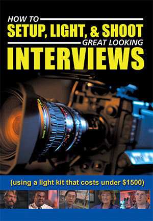How to Setup, Light & Shoot Great Looking Interviews