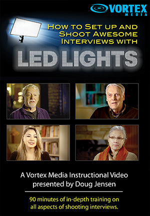 How to Set up and Shoot Awesome Interviews with LED Lights