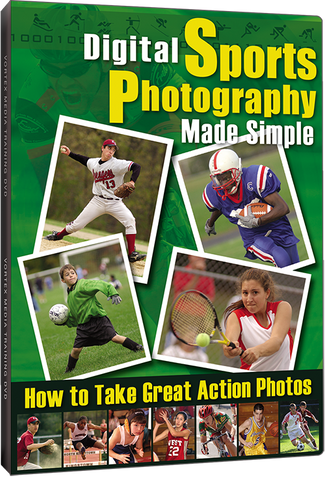 Digital Sports Photography Made Simple (DVD)