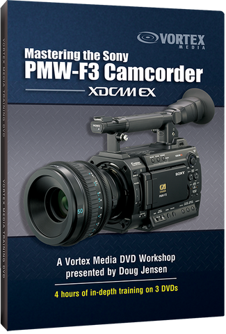 Mastering the Sony PMW-F3 Camcorder (DVD)