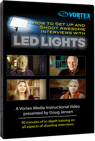 How to Set up and Shoot Awesome Interviews with LED Lights (DVD)