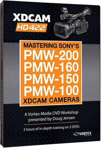 Mastering the Sony PMW-200/160/100 XDCAM Cameras (DVD)