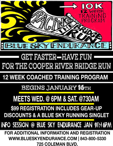Meet The Coaches And Learn More About The Program At The Info Session Hosted At Blue Sky Endurance January 9th At 6pm