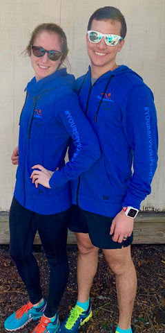 Men's Blue Sky Endurance Zip Up Hoodie