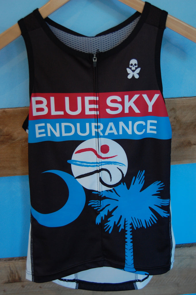 Women's Blue Sky Endurance Fluid+ Tri Top