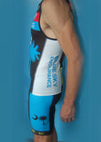 Men's Broken Glass Blue Sky Endurance Fluid+ Tri Top