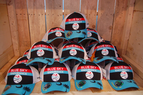 Blue Sky Endurance Trucker Hat
