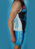 Men's Chevron Blue Sky Endurance Fluid+ Tri Short