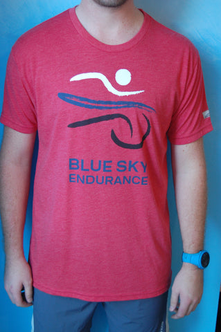 Men's Blue Sky Endurance Without-Limits Run Shirt