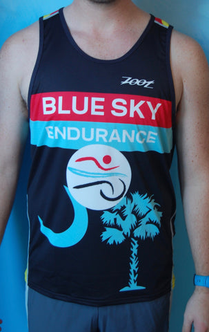 Men's Blue Sky Endurance Racing Singlet