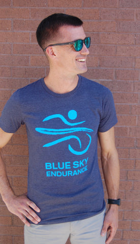 Men's Blue Sky Endurance Run Shirt