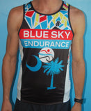 Men's Blue Sky Endurance Hincapie Racing Singlet