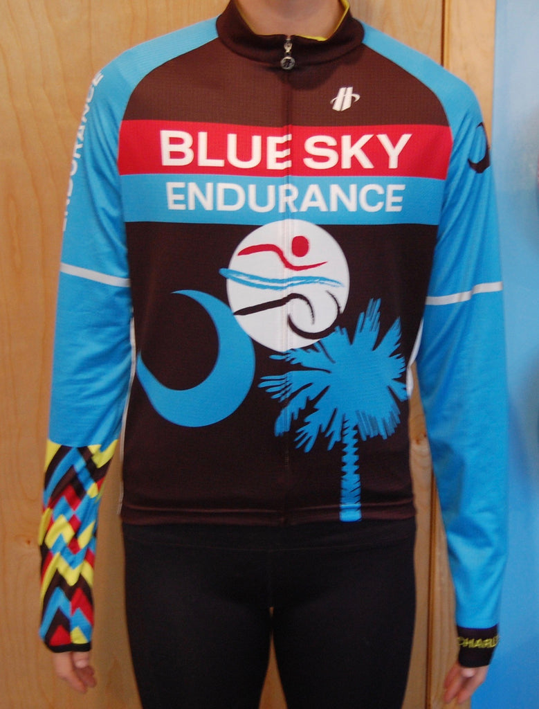 Women's Blue Sky Endurance Long Sleeve Jersey