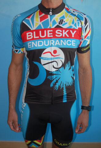 Men's Blue Sky Endurance Short Sleeve Jersey